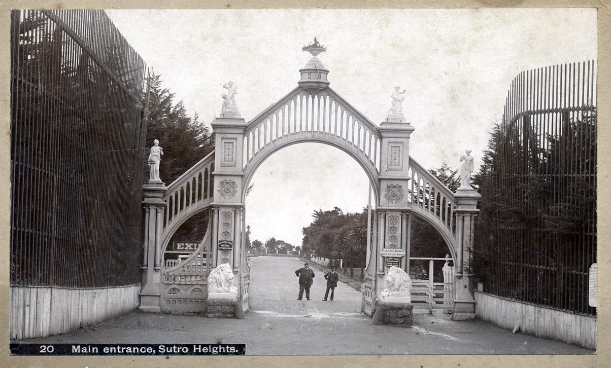 Sutro Heights Main Gate