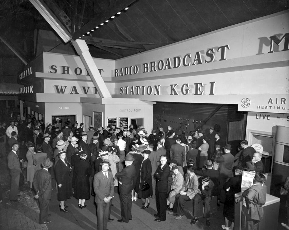 Short Wave Radio Broadcast Station