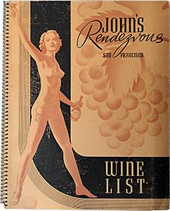 johns rendevous wine list