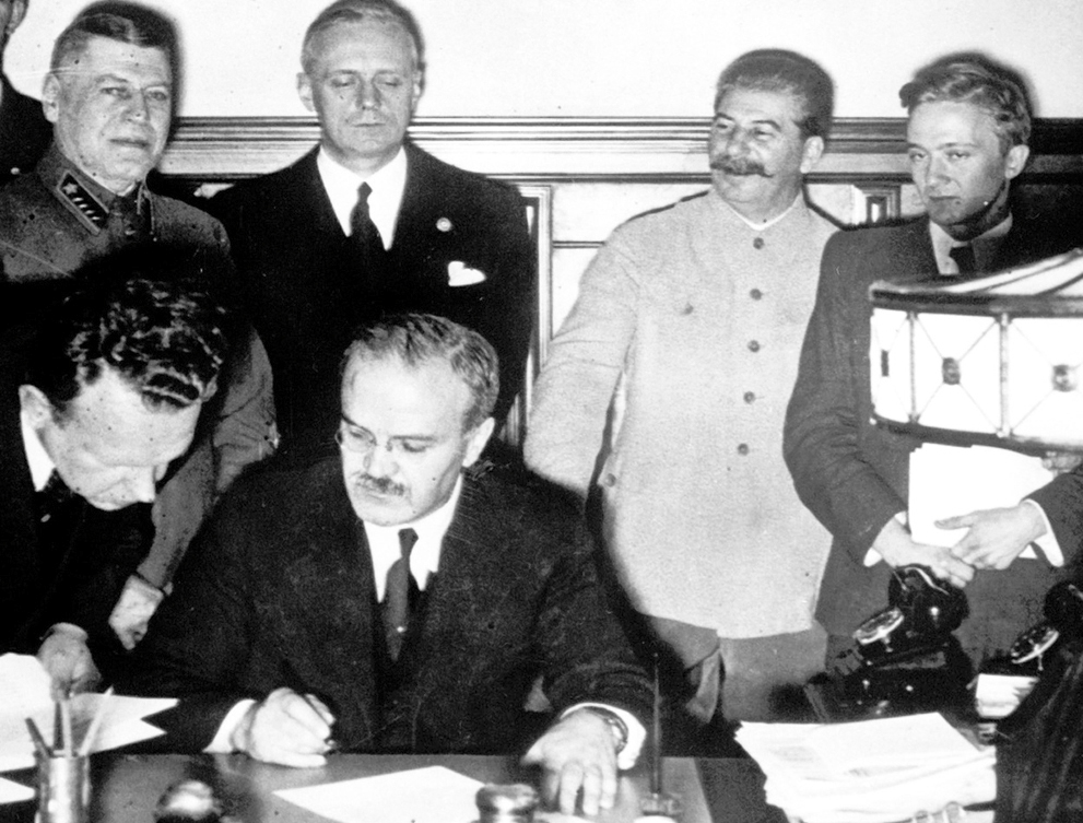 August 23,1939 Stalin+German pact