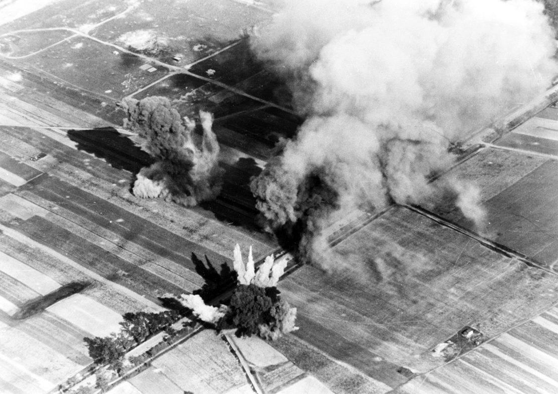 bombing Poland