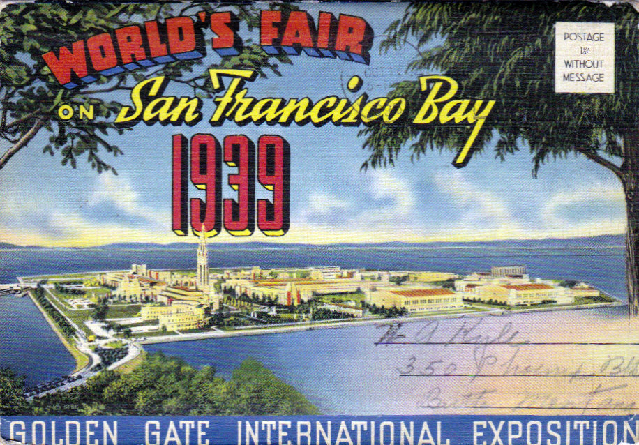 world's fair 1939 post card
