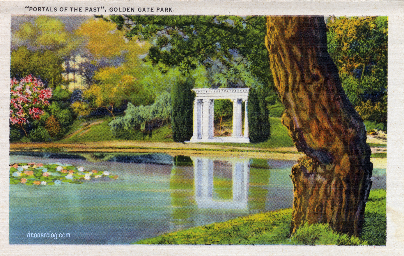 Golden Gate Park Portals of the Past