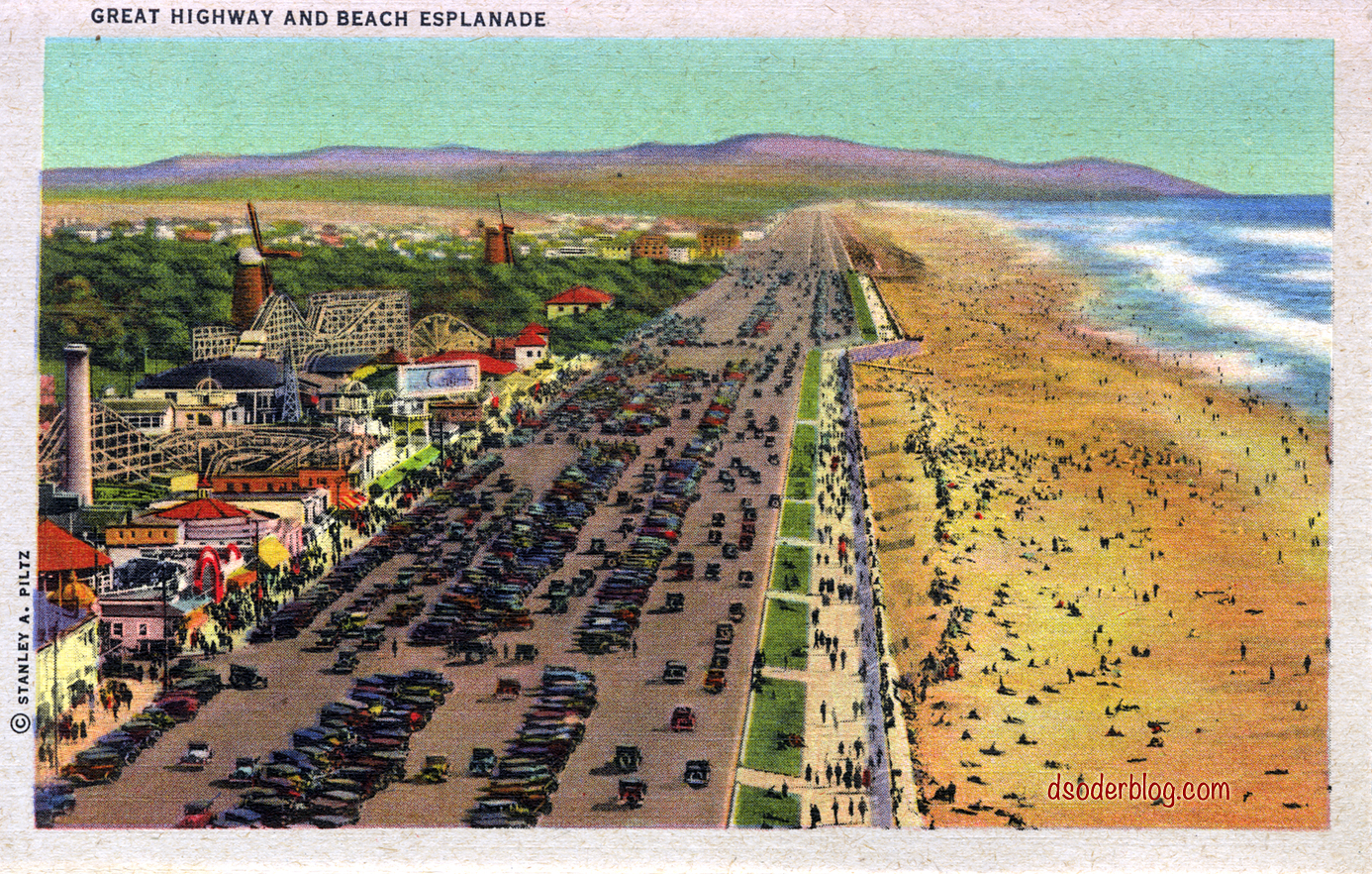 Great Highway and Ocean Beach Esplanade