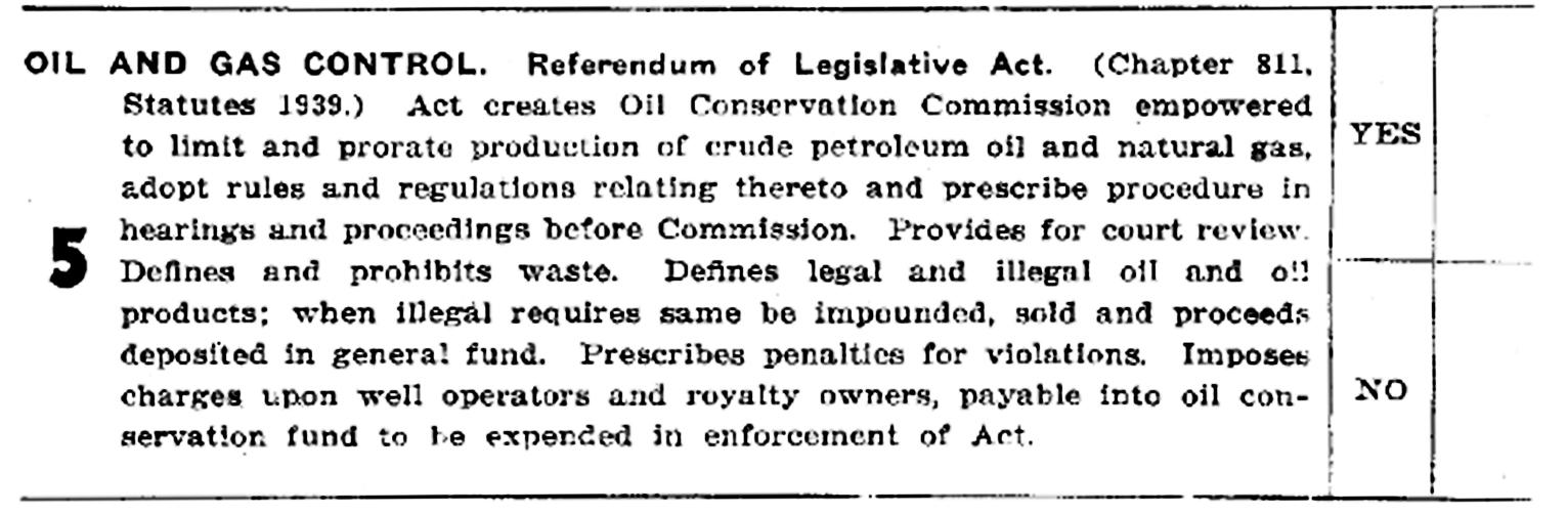 Proposition 5 1939