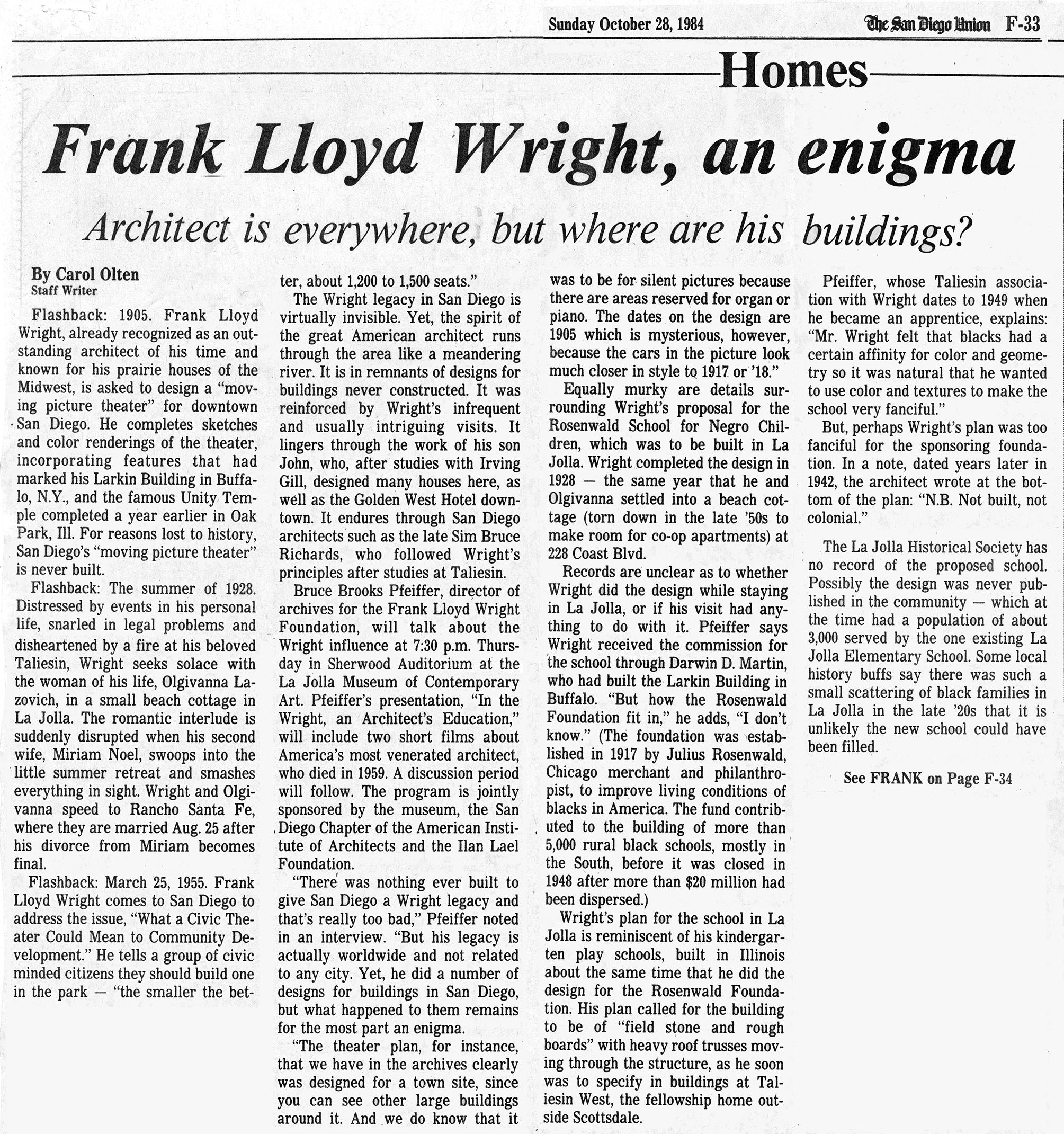 Frank Lloyd Wright – dsoderblog